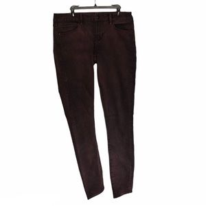 Articles of Society Mya Skinny Jeans Deep Red